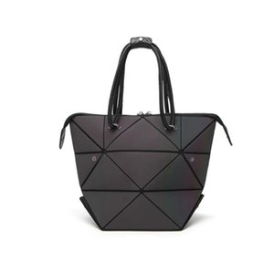 Abay Female bag 2020 leather hit color tote bag large capacity single shoulder slung portable large