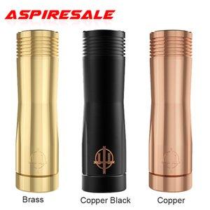 Authentic Hellvape Trishul V2 Mech Mod Magnet Attraction Button Electronic Cigarette Mechanical MOD Vape Support 21700 20700 18650 Battery