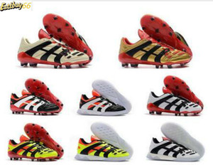 Best High Quality Mens Predator Football Shoes Dream Back 98 Predator Accelerator Champagne Predator Designer Football Boots Soccer Sneaker
