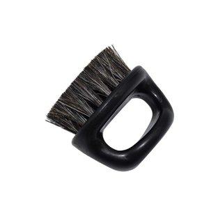 الرجعية البنصر فرشاة البلاستيك خنزير شعيرات مرونة التنظيف اللحية النمذجة الوجه دائم الرجال فرش جديد وصول 2 4MX G2