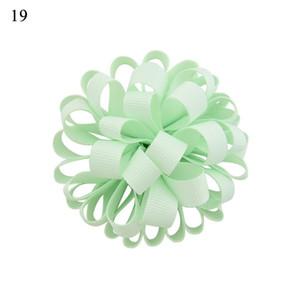 New Fashion Grosgrain Ribbon Flower With Elastic Rope Floral Hair Bands Kids Hair Accessories Girls Hair Accessories Scrunchie H jllGqj