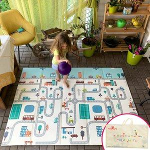 Miamumi pieghevole XPE Pianta in giochi per bambini per bambini strisciante cottura Pad Bambino addormentato Foam Mat Puzzle