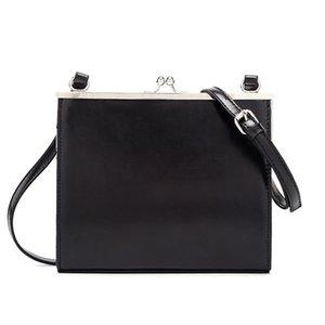 Свободный зажим мешок женщины Сумка PU кожа черной 2019 леди плеча сумки Crossbody Brands All-спичка Tote сумка Ins Кошелек Sac C1016