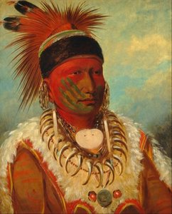 Leader of the indigenous people Home Decoration Handcrafts  HD Print Oil Painting On Canvas Wall Art Canvas Pictures For Wall Decor 201010