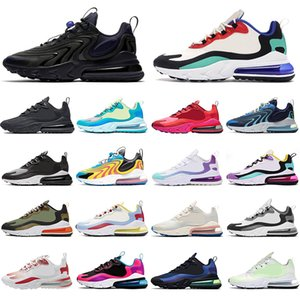 React Running shoes for men women Triple Black white Bauhuas Dream Capsule Electronic Music breathable outdoor mens trainers sports sneaker