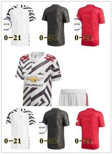 2020 2021 Manchester soccer jersey united UTD VAN DE BEEK B. FERNANDES jerseys MARTIAL RASHFORD football shirts 20 21 man kids kit 3XL 4XL