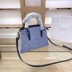 Classic Top Quality Primavera New Women's Ombro Bag Cor Correspondência de Couro Bolsa Messenger Bag Messenger Saco Vendedor Quente Saco