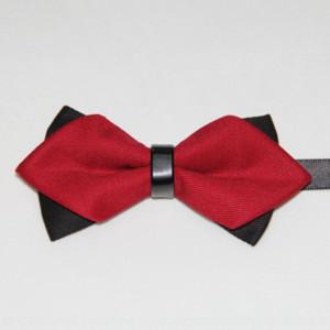 V6GZX a punta arrow arrow arrow arrow cravatta con colletto modello in cotone pointy papillon da uomo