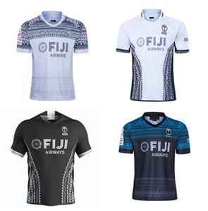 20202021 alta qualidade fijian rugby setes home jersey preto tubarão melbourne herói leão clube verde jaguar clube super jersey homens 3xl