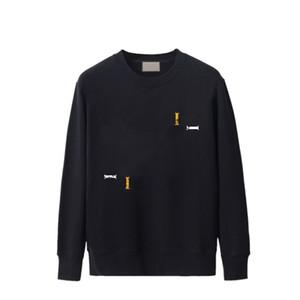 Мужская толстовка моды писем печатные пуловеры повседневные женские толстовки активные Hiphop мальчики толстовки 2021 высокое качество 20 стилей
