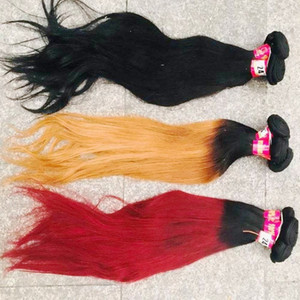 Fasion Virgin colored hairs Sister love wholesale 15pcs lot small piece business seller brazilian Indian body wave straight weaves