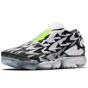 2018 2.0 3.0 MOC Laceless Bırakmak Erkekler Koşu Ayakkabıları Kadın Sneakers Eğitmenler Oreo Spor Ayakkabı Üçlü Siyah Beyaz