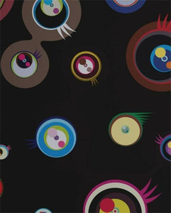 Takashi Murakami Jellyfish Eyes Fantasy Home Decor Handcrafts  HD Print Oil Painting On Canvas Wall Art Canvas Pictures , F210111