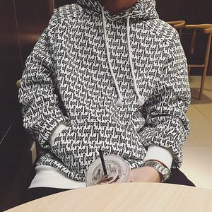 FEAR OF GOD Hoodies FOG ESSENTIALS Casual Sweatshirt Embroidered Letters Hooded Fashion Streetwear Couple Shirt SIZE S-XL