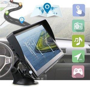 Durable GPS Navigator System 256MB+8G 7 Inch Voice Broadcast Free Map HD GPS Navigator Pratical ABS Car Navigation