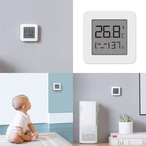 Bluetooth Humidity Meter ABS LCD Household Bedroom Babys Room Number Display Temperature Meters White Hygrometer Hot Sale 15xf M2