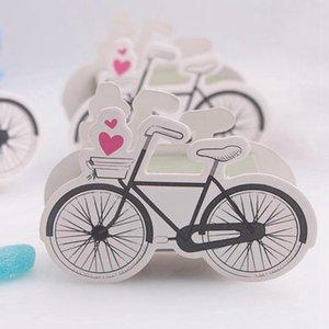 Vélo Boîtes bonbons Manuel Coffrets cadeaux Paper Box Party Favors pour le mariage des enfants anniversaire