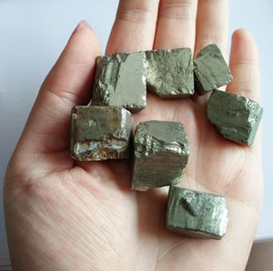 Natural Lovely Nice Chalcopyrite Cube Crystal Healing Crystal Mineral Stone For Sale Tumbled Stones bbyxzI sweet07