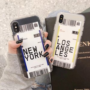 Hot ins Funny Bar Label World ticke phone case For iphone 12 ProMAX 6 plus 7 8 8plus 11 Pro X XS XR MAX soft silicon TPU back Cover coque