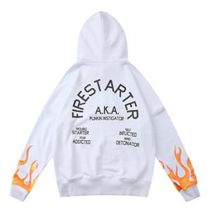 Männer, die ein paar übergroße Streetwear-Feuer-Unglückungen Herbst männlich Arajuku koreanischer Sle-Sweats-Sweatshirts Oodie-Krawatte-Farbstoff-Oodie # 30066660000