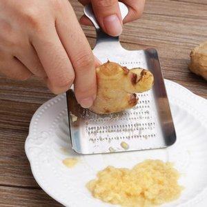 Mini portátil Mini Aço Inoxidável Press de alho Slicer conveniente gengibre Ginger Alho Crusher Chopper Greater Cozinha Ferramentas Gadgets EWD2720