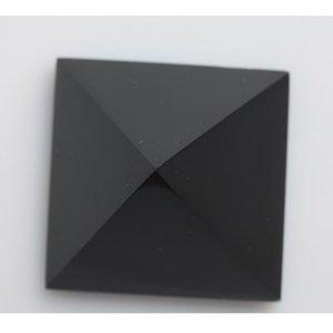 Commercio all'ingrosso guarigione Reiki Nero ossidiana cristallo 178g bdesports 5,6 centimetri bbyrV decorazioni in cristallo Nunatak hjt Piramide Piramide quarzo naturale