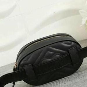 Handbags fashion bags Waist bag high quality lady Genuine leather bag with letters Belt bag