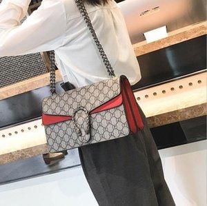 luxurys Designer-Taschen 2020 neue heiße Frauen-Kreuz-Körper der Frauen Art und Weise Handtasche Schultertasche Messenger Bag Lady Handy-Ketten-Beutel 26cm