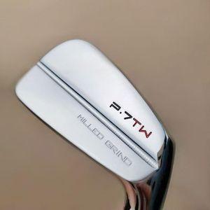 Chivalric Shop Golfclubs P7 TW Golfeisen stellten 3-9P (8 Stück) Stahl oder Graphitschaft S / R gehärteter Stahl freies Verschiffen Welle
