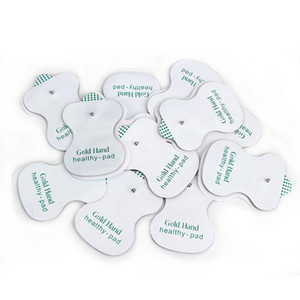 50pcs lot Electrode Pads for for JR 309 Tens Acupuncture Good Quality white ,Digital Therapy Machine Massager Health pads