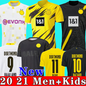 Borussia dortmund HAALAND REUS 20 21 maillot de foot 2020 2021 maillots de football BELLINGHAM SANCHO HUMMELS BRANDT hommes + kit enfants enfant de la soccer jersey