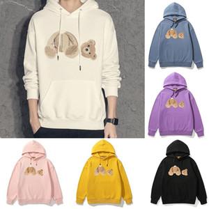 2020 sale fashion angels palm hoodie palms angel coat womens teddy bear Hoodie sweatshirts style mens warm fleece fall winter sets  33 30rJ#