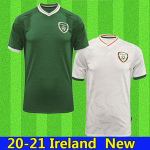 Nuovo 20 21 Irlanda Soccer Jersey 2020 2021 Casa Away Repubblica d'Irlanda National Team National Thailandia Uniformi di qualità Kit Kit Kit Footbal