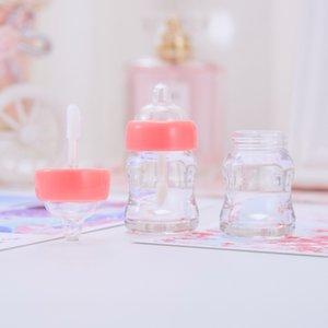 Plastic Empty Lip Gloss Container Transparent Multi Color Nipple Bottle Type Labial Lipstick Lipglosses Tube Hot Sale 1 6xm L2