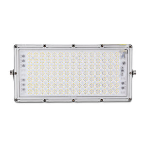 100W 7th Generation Module Ultra-thin LED Flood Light,IP65 Outdoor Floodlight,Cool White Floodlight for Yard, Garden,Playground