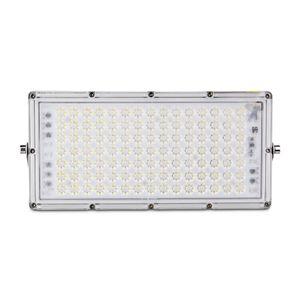 100W 7. Nesil Modülü Ultra-ince LED Sel Işık, IP65 Açık Floodlight, Yard, Bahçe, Bahçesi için Soğuk Beyaz Floodlight