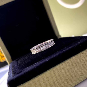 Hot sale S925 silver punk band ring with all diamond for women wedding and daily jewelry wear gift free shipping PS6443