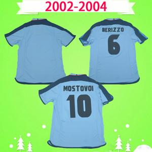 Retro 2002 2003 2004 Celta de Vigo Football Hemd 02 03 04 Fussball Jersey Vintage Home Blue Classic Camiseta Milosevic Mostovoy Jesuli