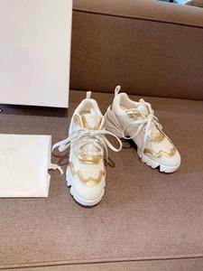 New Paris Men Women Platform Trainer Comfort Casual Shoe Sneaker Mens Leisure Leather Shoes Chaussures Trainers Slip-On df1020
