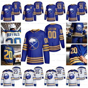 26 Rasmus Dahlin Buffalo Sabres 2021 Royal Blue 4XL Wayne Simmonds Jack Eichel Jeff Skinner Okposo Ristolainen Mccabe Johansson jerseys
