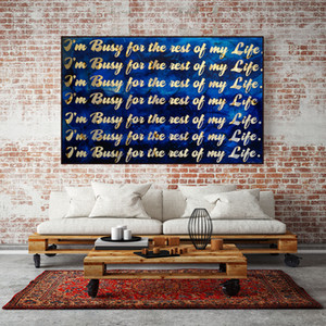 Motivational Inspiring Quotes Wall Art Canvas Painting Nordic Posters Colorful Prints Wall Pictures For Living Room Decor