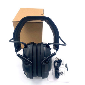 Tactical Electronic Earmuff for Shooting, Outdoor Sports, Anti-noise Headphones, Sound Amplification, Hearing Protective Headset Headphones