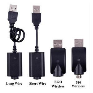 510 USB Charger For EGO T EVOD TWIST Vision Spinner Vapor Mods Electronic E Cigarettes Vape Battery Vaporizer USB Charger