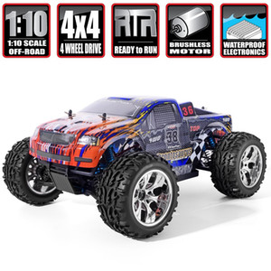 HSP RC Car 1 10 Scale 4wd Off Road Monster Truck 94111PRO Electric Power Brushless Motor Lipo Battery High Speed Hobby Vehicle
