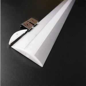 5-30pcs 1m 12mm PCB wide edge led aluminium profile ,5V 12V 24V Strip channel , 52mm wide 10mm high ceil wall bar light housing