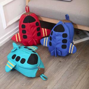 Cute Kid Toddler Schoo Bags Plane Backpack Kindergarten Children Girls Boys Schoolbag 3d Cartoon Animal Bag Mochila Mujer T2G
