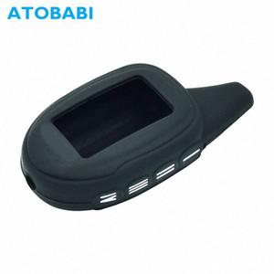 ATOBABI M7 Silicone Case Shell Key peau de couverture pour Scher Khan Magicar 7 8 9 12 M101AS Russie Version Two Way LCD voiture d'alarme à distance g9IS #