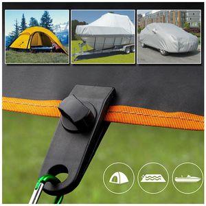 10 STÜCKE TARP-Clips Hochleistungs-Tarp-Clips-Quilt-Aufhänger-Clamp-Tarp-Markise-Klammer-Set Zelt-Schnappt Camping-Klammerklemmen Zelt für den Außenbereich