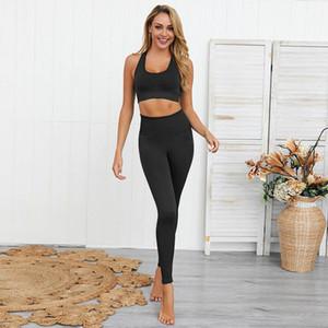 Yoga donne Outfits signore Sport completa ghette delle signore pantaloni Esercizio palestra usura ragazze che funzionano Leggings a buon prezzo yoga abbigliamento sportivo