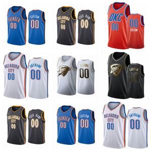 HommesOklahomaVilleTonnerreLuguentzDorerGeorgeColline alHorford Tout joueur personnalise une maillot de basketball